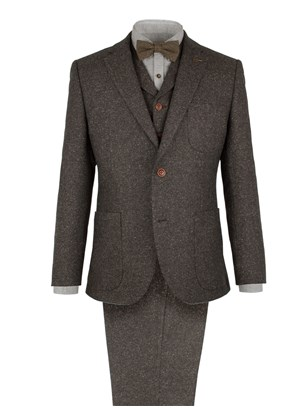 Taupe Donegal Fleck Jacket