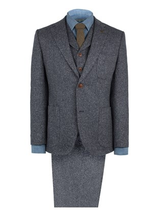 Denim Donegal Fleck Suit