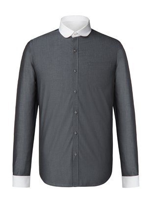 Grey Tonic Penny Round Shirt