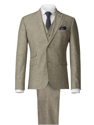 Gibson Green Linen Blend Jacket Green