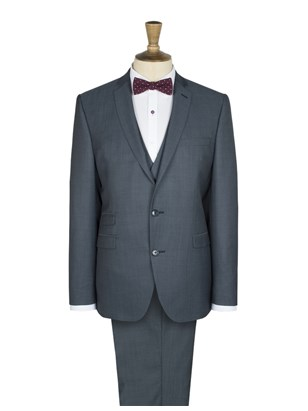 Blue Twill Suit