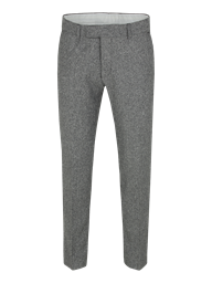Black/White Plain Front Herringbone Trouser- currently unavailable