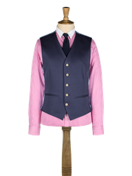 Navy Cotton Waistcoat- currently unavailable
