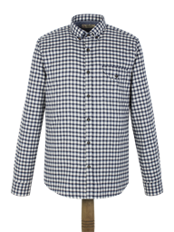 Blue Flannel Check Shirt- currently unavailable