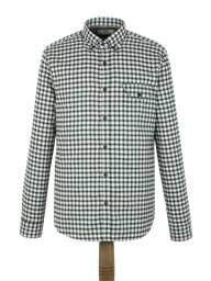 Green Check Flannel Shirt