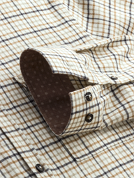 Toffee Flannel Check- currently unavailable