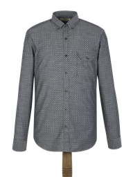 Charcoal Spot Shirt- currently unavailable