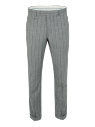 Grey Windowpane Check Trouser- currently unavailable