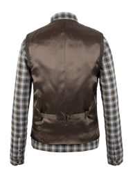 Brown Check Waistcoat- currently unavailable