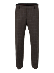 Brown Check Suit Trousers- currently unavailable