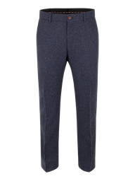 Navy Herringbone Donegal Trousers- currently unavailable