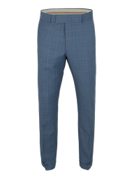 Pale Blue Check Suit Trousers- currently unavailable