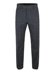 Charcoal Check Wool Blend Suit Trouser- currently unavailable
