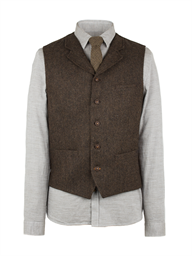 Brown Plain Vest- currently unavailable
