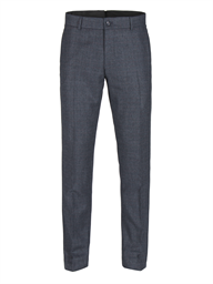 Navy Prince of Wales Check with red over check Trousers- currently unavailable