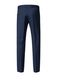 Bright Blue Diamond Effect Trousers