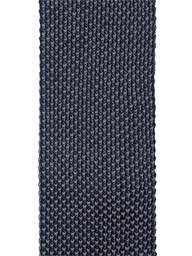 Navy and Grey Textured Knitted Tie