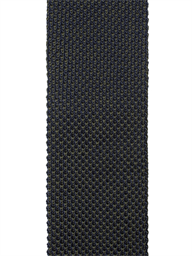 Navy and Forest Green Textured Knitted Tie