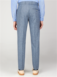 Gibson Bayswater Blue Tweed Men's Slim Fit Radisson Trousers