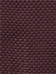 Berry Red Knitted Tie
