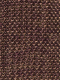 Berry Red & Fawn Melange Knitted Tie